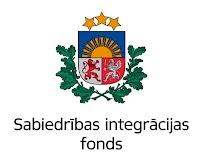 Pasākuma norisi atbalsta Sabiedrības integrācijas fonds no Latvijas valsts budžeta līdzekļiem
