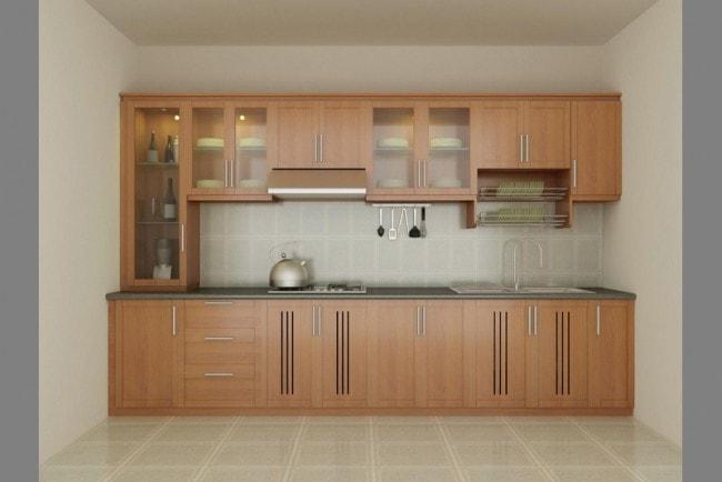 5 loại gỗ làm tủ bếp chịu nước