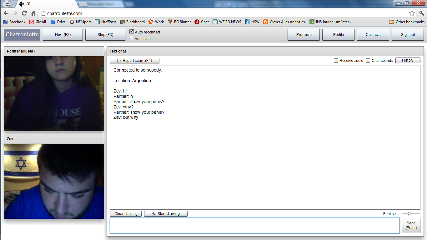 Roulette gay chat Chatroulette in
