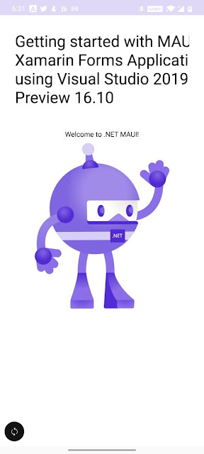 Say Hello to .NET MAUI! A First-Class UI Framework