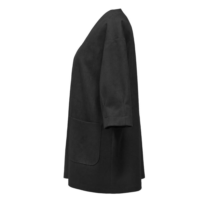 کت زنانه درس ایگو کد 1080006 رنگ مشکی