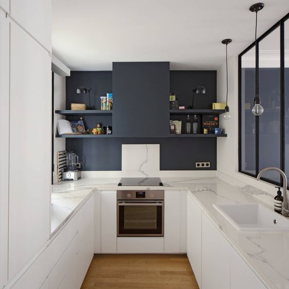 10 Ways To Optimize A U Shaped Kitchen Design