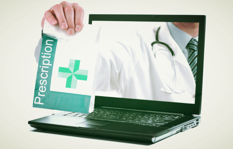 laptop medicine - MMJ recommendation is minutes away