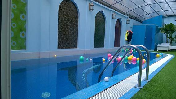 Thiết kế mái che cho bể bơi