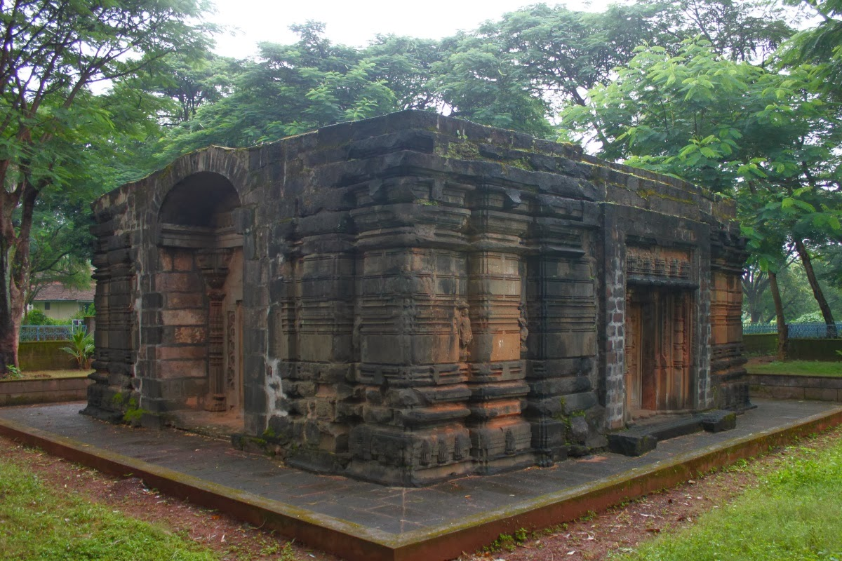 This picture contains ancient temple in the Belagavi/Belgaum fort