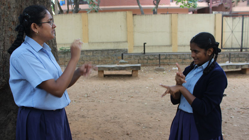 Deaf and hearing impaired Indians push for official sign language recognition