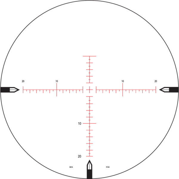 Nightforce ATACR SFP reticle