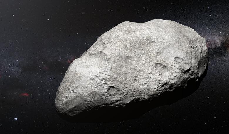 First confirmed carbon-rich asteroid found in Kuiper Belt