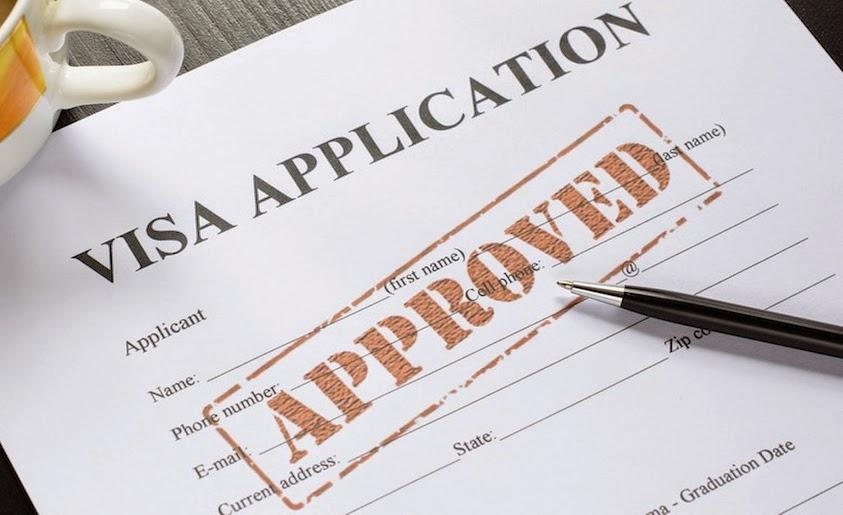 chấp nhận visa