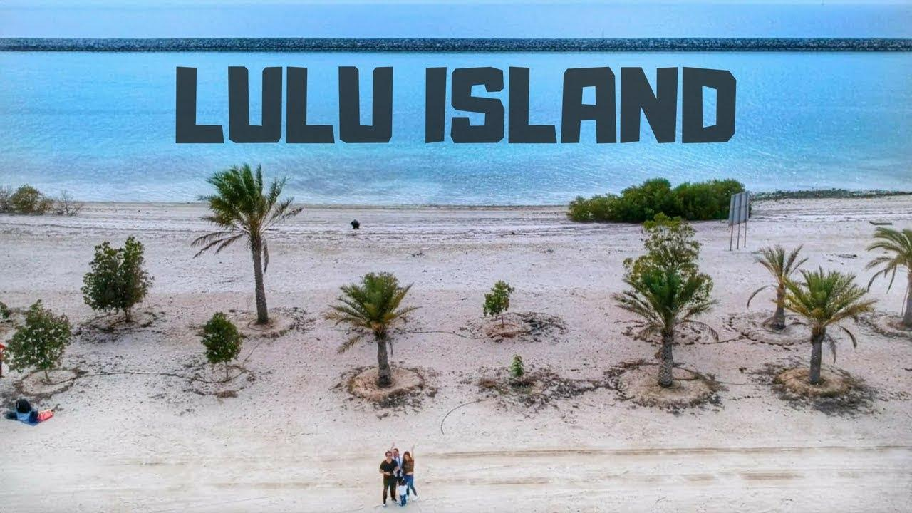 LULU ISLAND Aerial View | best place for isolated camping ...