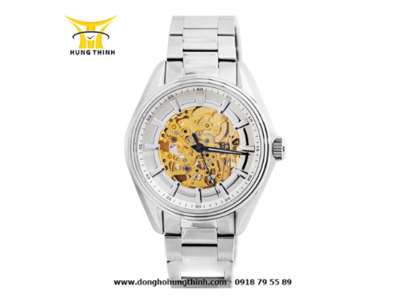 Sản phẩm đồng hồ Olym Pianus Automatic lộ máy cực sang trọng này chỉ có giá 4 triệu đồng!