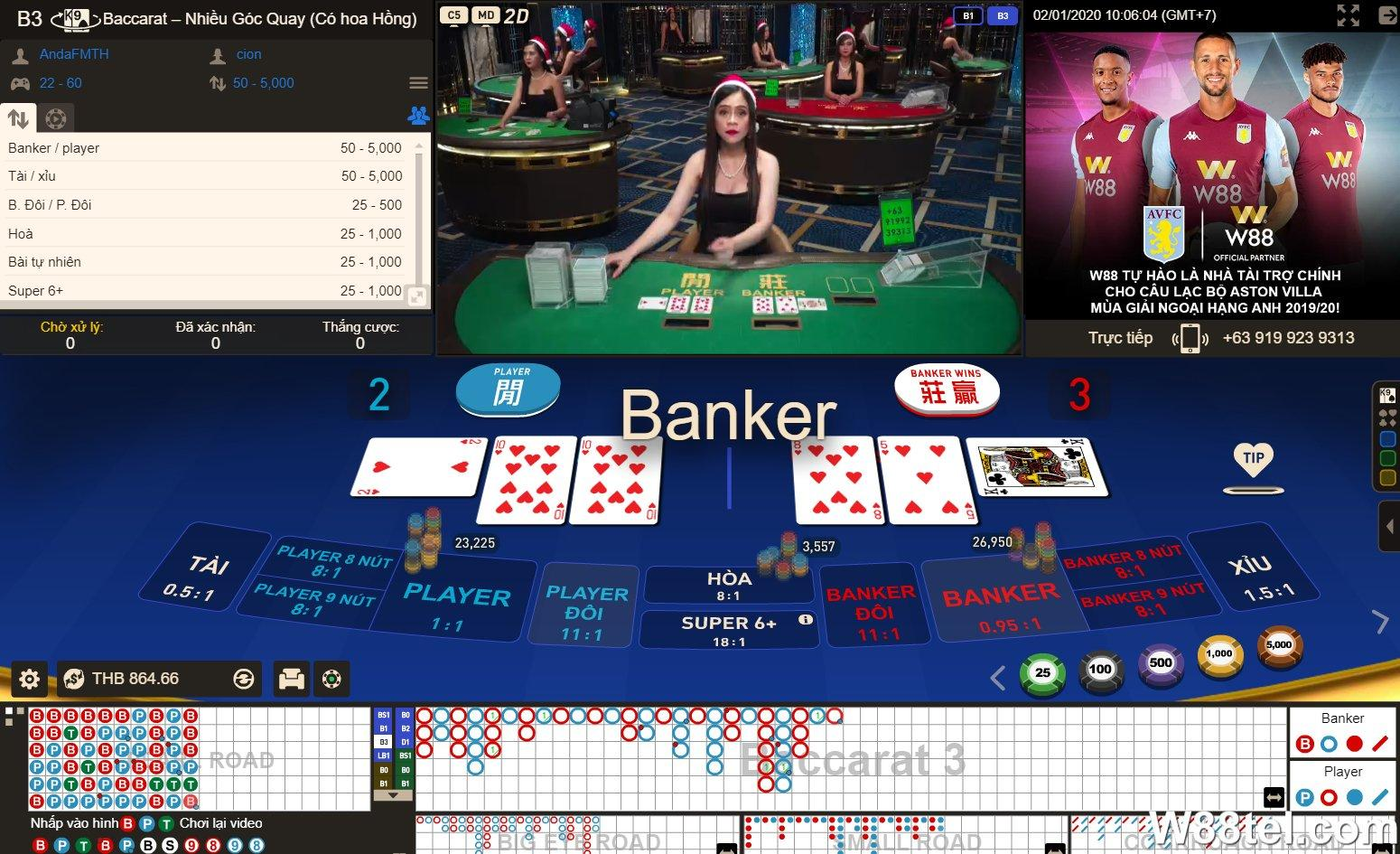 Cách Đánh Bài Online ăn tiền thật tại sòng casino uy tín W88