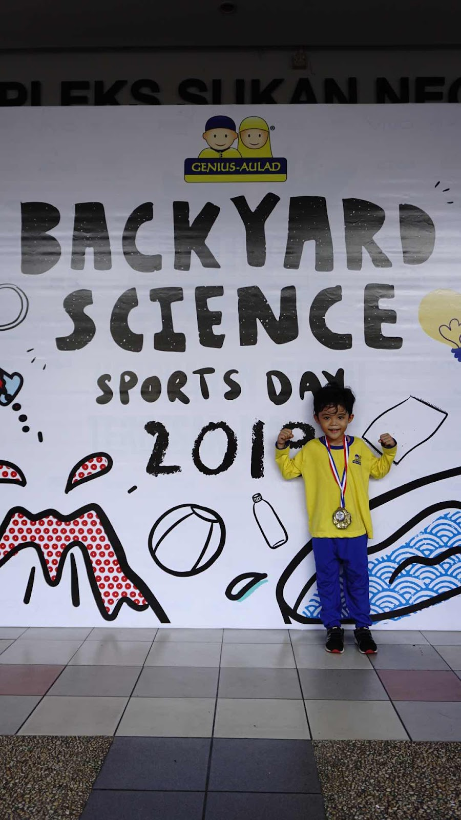 BackYard Science 2019 Sportday Genius Aulad Saujana Utama