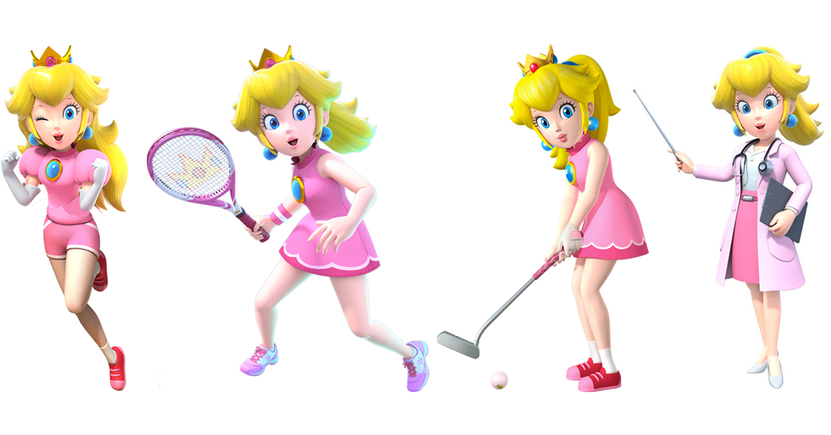The Princess is a Tennis Pro.