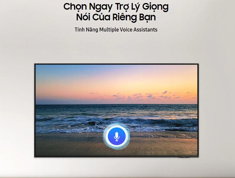 Smart Tivi Samsung 4K UHD 50 inch UA50AU8000KXXV | Hỗ trợ trợ lý giọng nói