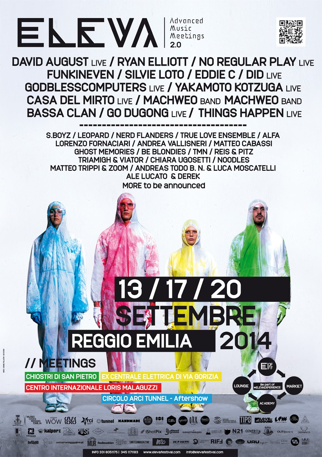 Eleva Festival All-in 13-17-20 Settembre