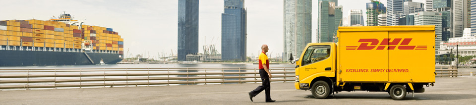 DHL is the world's leading shipping companies in Singapore
