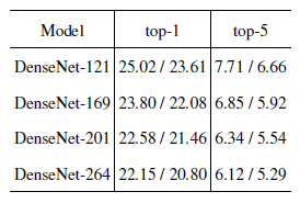 A Review of Popular Deep Learning Architectures: DenseNet, ResNeXt, MnasNet, and ShuffleNet v2