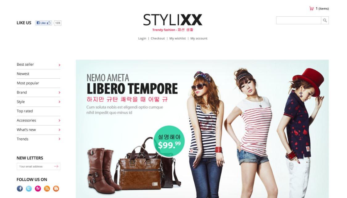 Stylixx Asian Fashion