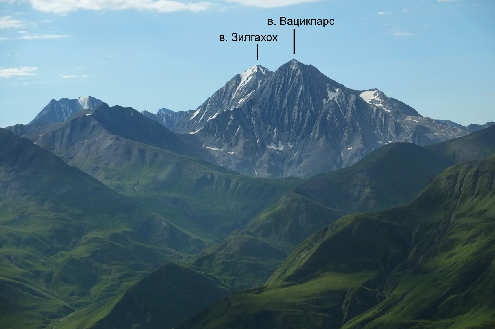 Отчёт о горном походе 2 к.с. в районе Центральный Кавказ