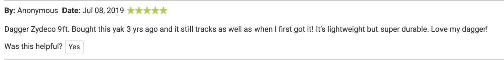 dagger kayak reviews