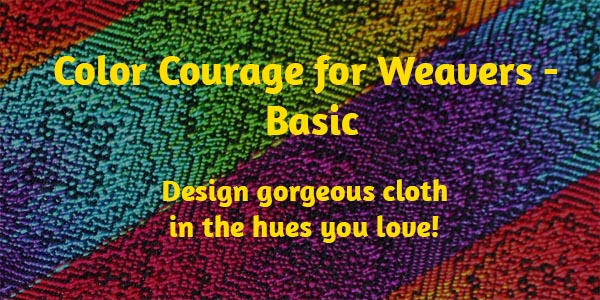 Color Courage for Weavers - Basic