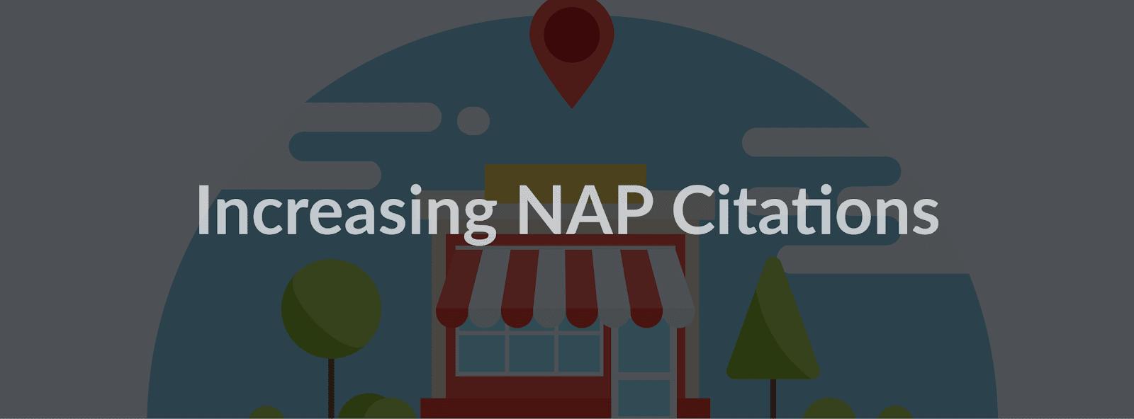 Increasing NAP Citations