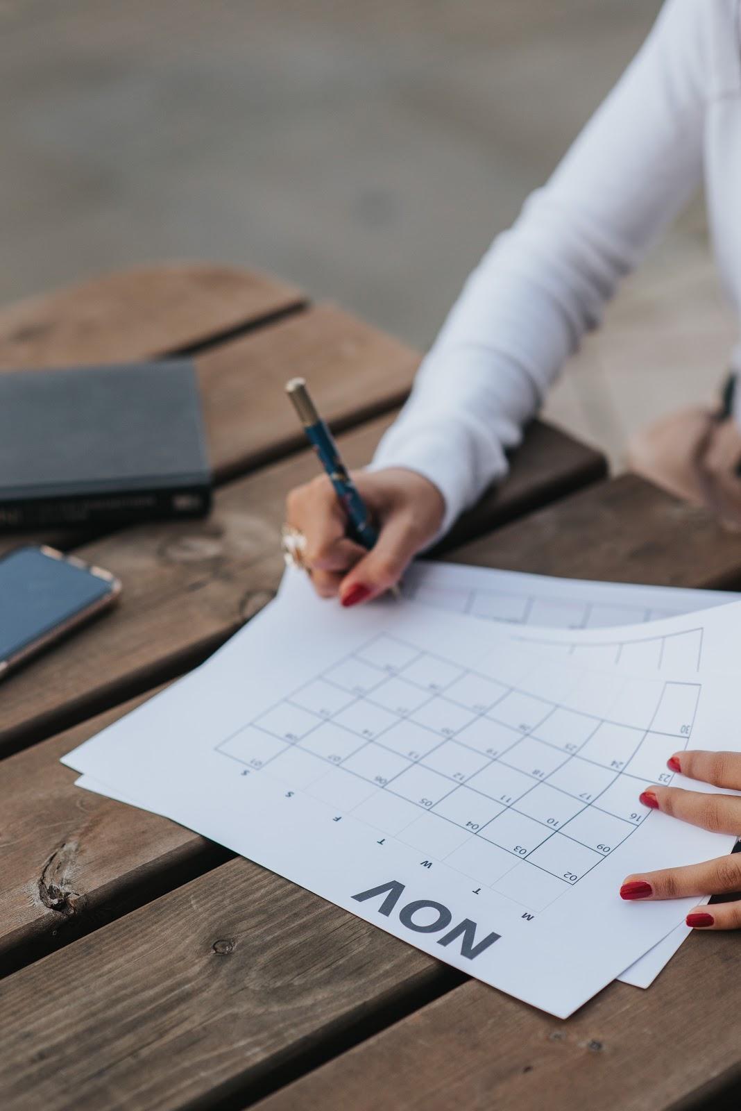 Com tanto conteúdo o planejamento é fundamental! (Fonte: Pexels)