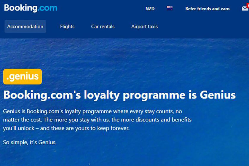 Booking.com Genius programme