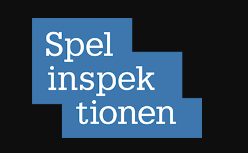 Look for the Spelinspektionen logo on casino sites.