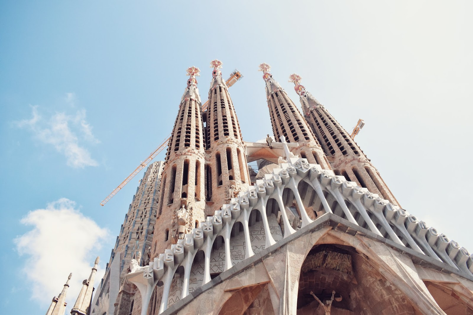 Towers of Sagrada Familia