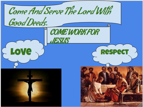 Come Work For Jesus