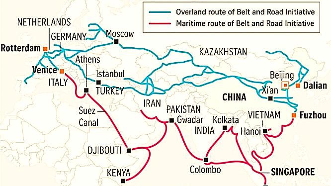 """Tầm nhìn """"vành đai - con đường"""" của Trung Quốc tại Nam Á"""