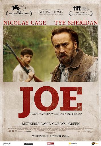 Polski plakat filmu 'Joe'