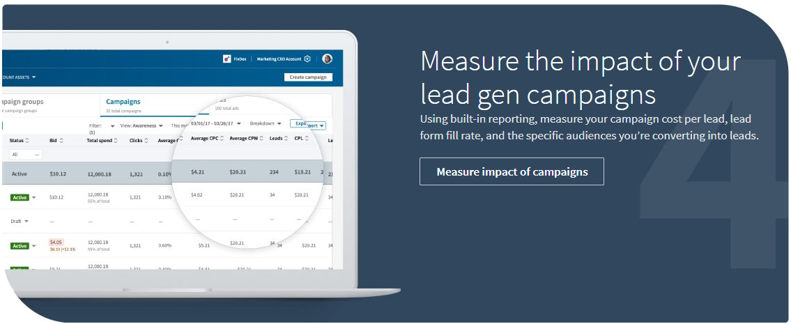 Setting Campaign Goals for LinkedIn Lead Gen Campaigns 3