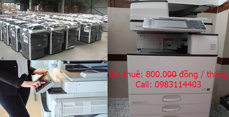 Có rất nhiều nhà cung cấp dịch vụ thuê máy photocopy quận THỦ ĐỨC