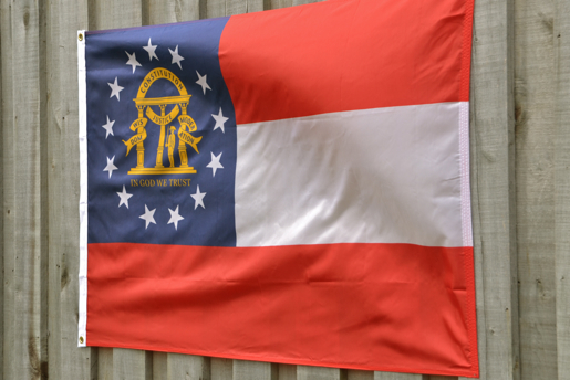 Georgia Flag by Volunteer Traditions