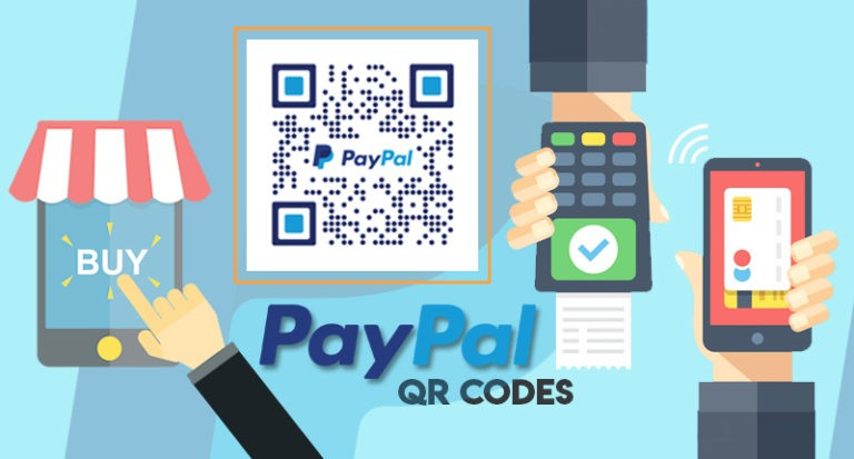 Paypal uses QR codes to make payments easier