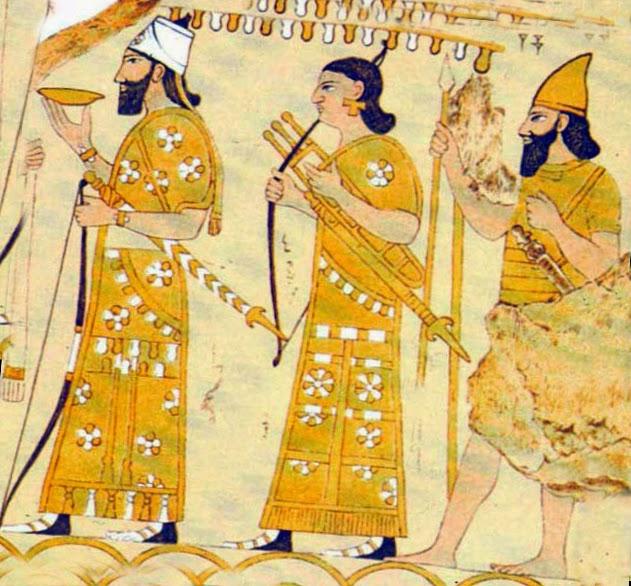 Одежда древних ассирийцев