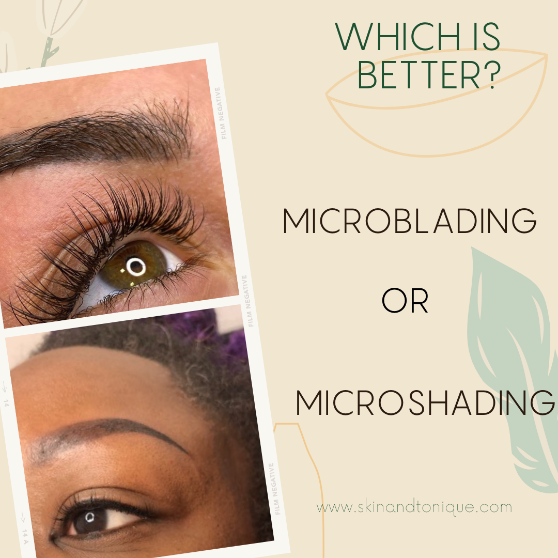 Difference between Microblading Eyebrows and microshading