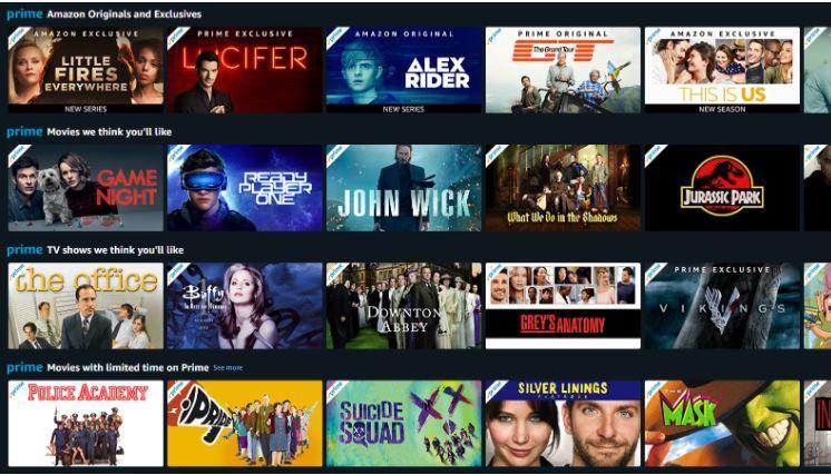 Amazon Prime Video TV Shows