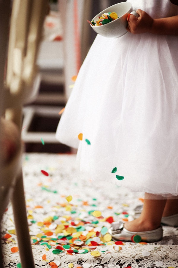 Confetti Flower Girl