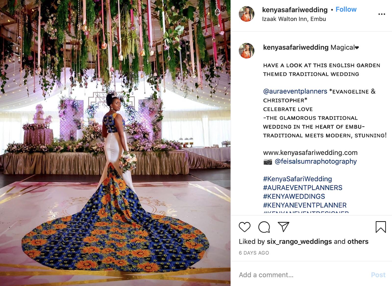 african wedding theme