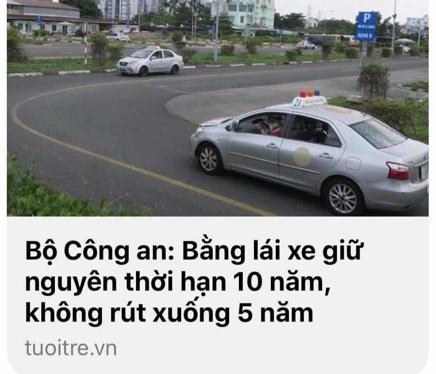 """CÂU CHUYỆN VỀ """"GIẤY PHÉP  LÁI XE"""""""