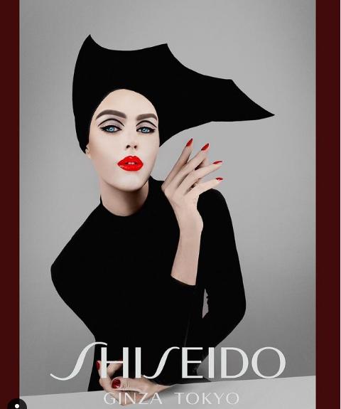 Jospeh Harwood   Shiseido Promo Shoot