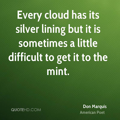 Every cloud has a silver lining narrative essay