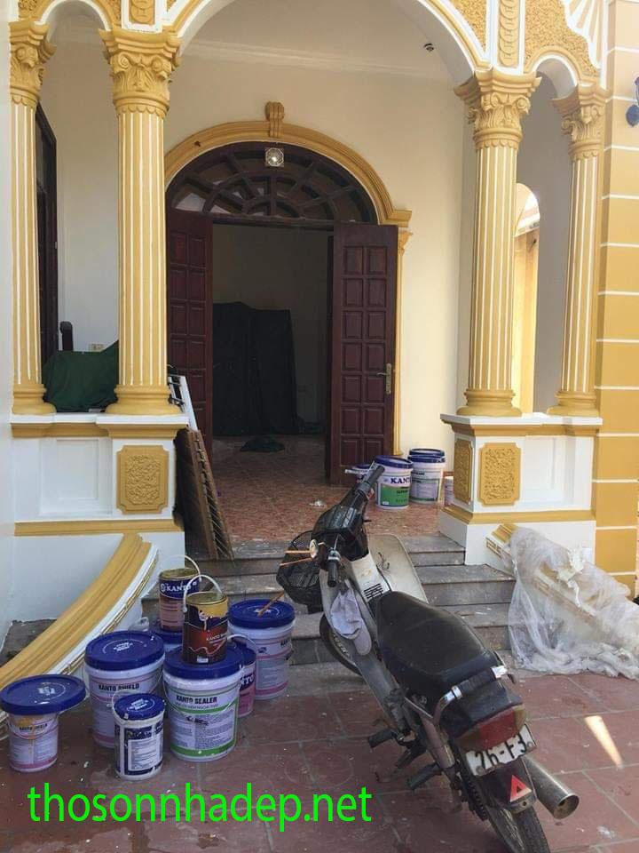 Thợ sơn nhà hà nội online chuyên nghiệp