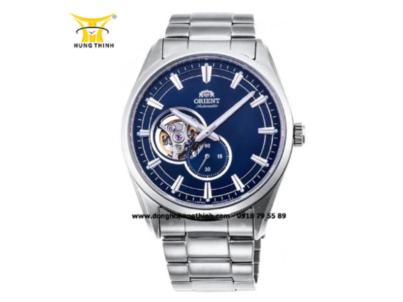 Quan sát kỹ các chi tiết trên dây đồng hồ cũng là một cách phân biệt đồng hồ Orient chính hãng (Chi tiết sản phẩm tại đây)