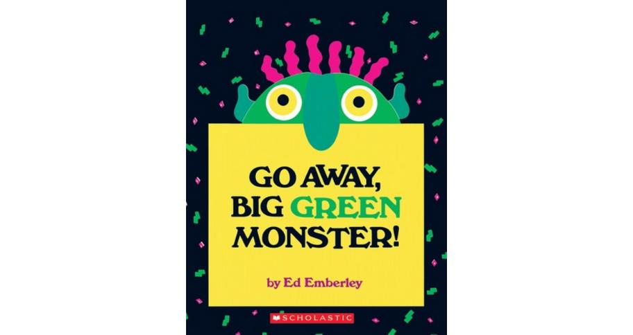 children's books: go away big green monster