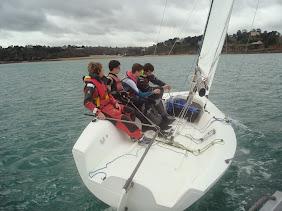 entrainement lycée maritime paimpol